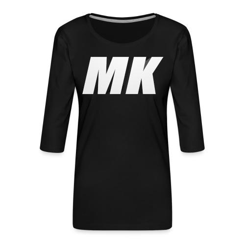 MK 3D - Vrouwen premium shirt 3/4-mouw