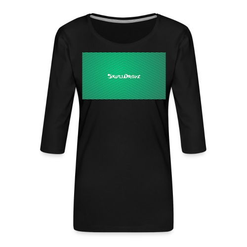 backgrounder - Frauen Premium 3/4-Arm Shirt