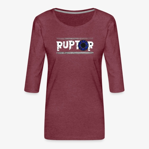 Ruptor - T-shirt Premium manches 3/4 Femme
