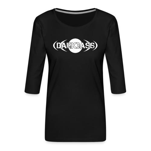 Darkbass Logo - Frauen Premium 3/4-Arm Shirt