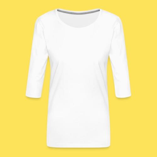 Logo - Maglietta da donna premium con manica a 3/4