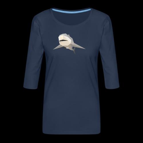 SHARK COLLECTION - Maglietta da donna premium con manica a 3/4