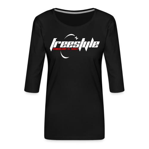 Freestyle - Powerlooping, baby! - Women's Premium 3/4-Sleeve T-Shirt