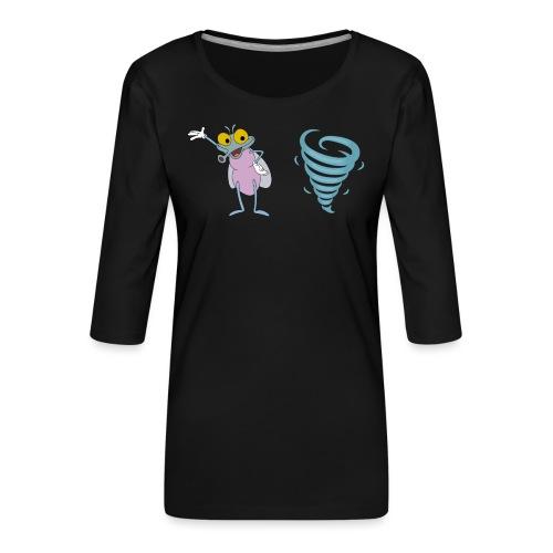MuggenSturm - Shirt 02 - Frauen Premium 3/4-Arm Shirt