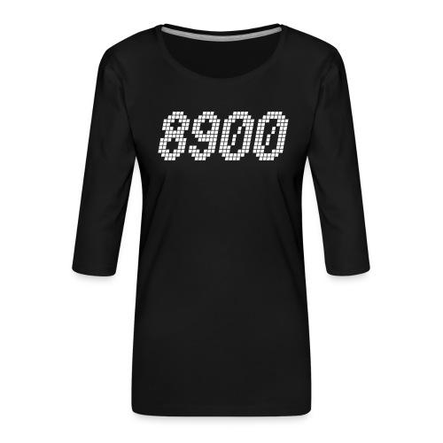 8900 Randers - Dame Premium shirt med 3/4-ærmer