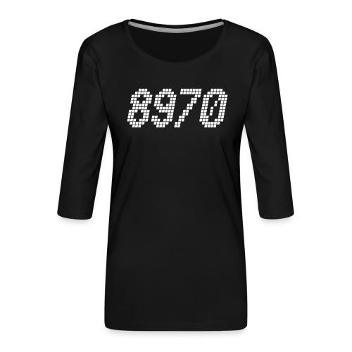 8970 Havndal - Dame Premium shirt med 3/4-ærmer