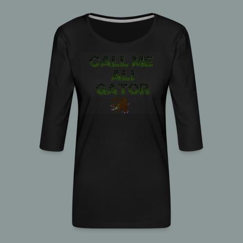 aligator2 - Frauen Premium 3/4-Arm Shirt