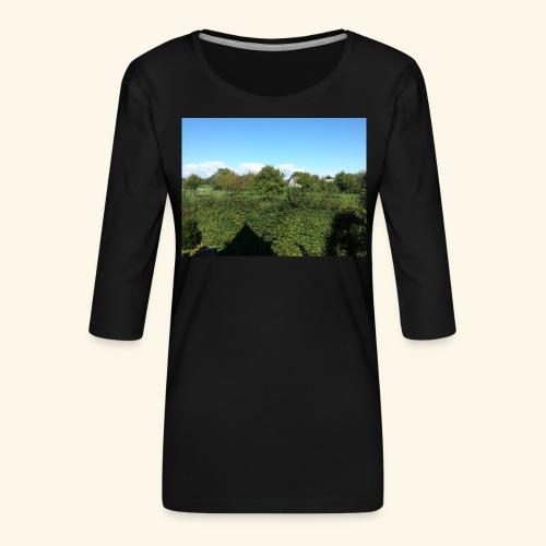 Jolie temps ensoleillé - T-shirt Premium manches 3/4 Femme