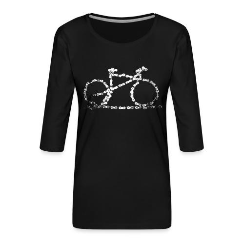 bike3_large - Women's Premium 3/4-Sleeve T-Shirt