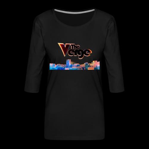 The Verge Gob. - T-shirt Premium manches 3/4 Femme