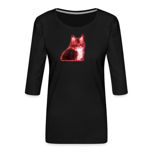 oscarsoderberg - Premium-T-shirt med 3/4-ärm dam