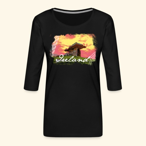 Ireland T Shirts - Frauen Premium 3/4-Arm Shirt