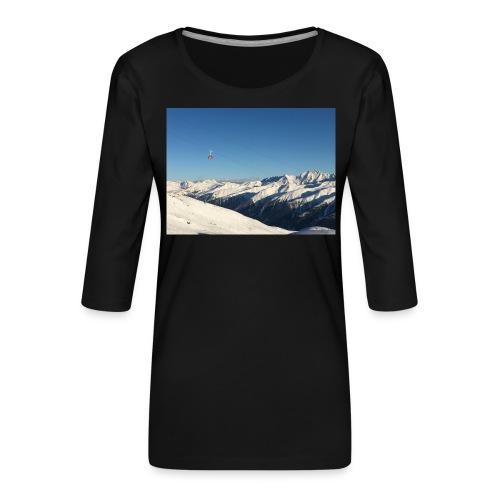 bergen - Vrouwen premium shirt 3/4-mouw