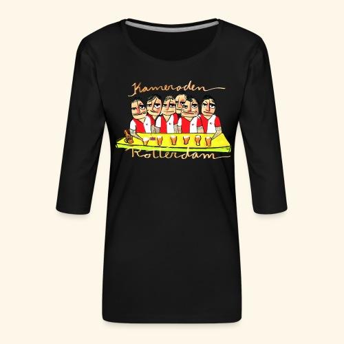 Kameraden Feyenoord - Vrouwen premium shirt 3/4-mouw