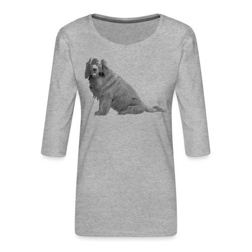 newfoundland - Dame Premium shirt med 3/4-ærmer