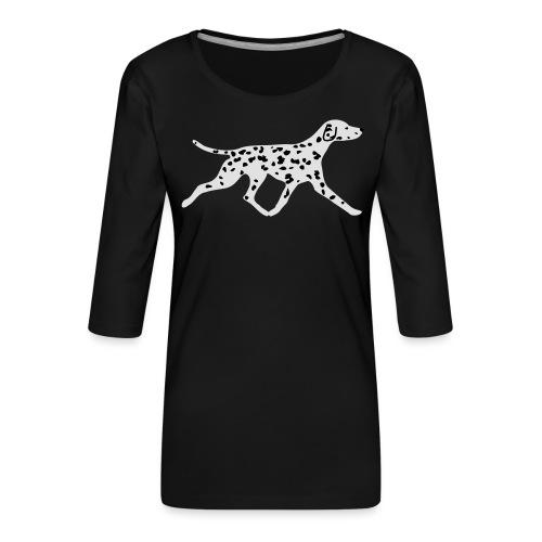 Dalmatiner - Frauen Premium 3/4-Arm Shirt