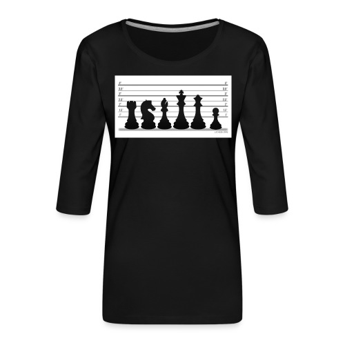 Lichess Lineup - Women's Premium 3/4-Sleeve T-Shirt