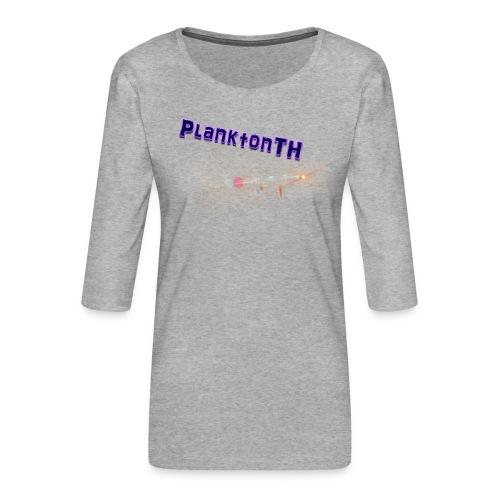 PlanktonTH, Lens Flare - Naisten premium 3/4-hihainen paita