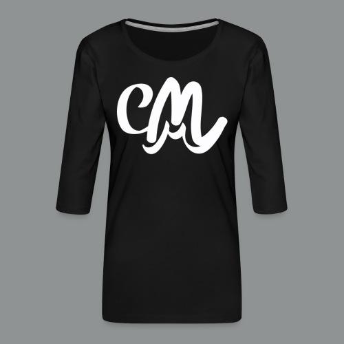 Vrouwen Shirt (voorkant) - Vrouwen premium shirt 3/4-mouw