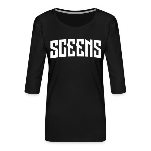 Sceens American T-Shirt Vrouwen - Vrouwen premium shirt 3/4-mouw