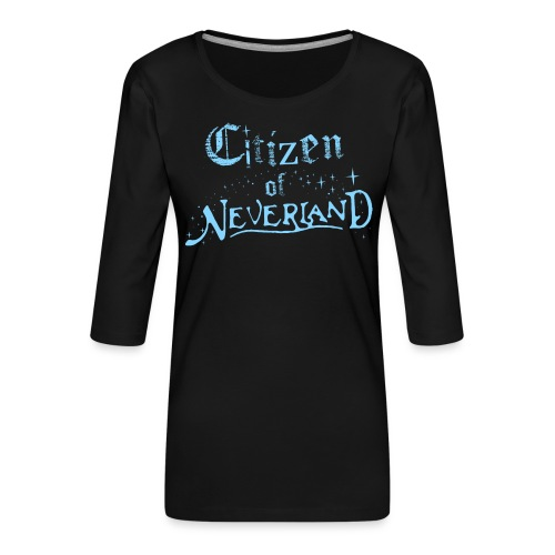 Citizen_blue 02 - Women's Premium 3/4-Sleeve T-Shirt
