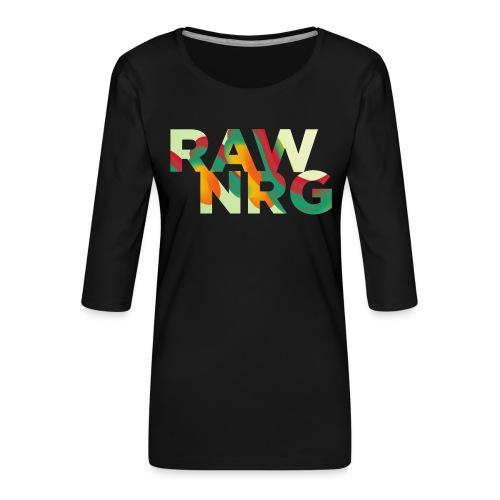 Artboard 1 4x - Women's Premium 3/4-Sleeve T-Shirt