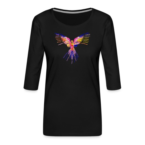 K.A Shirts - Dame Premium shirt med 3/4-ærmer