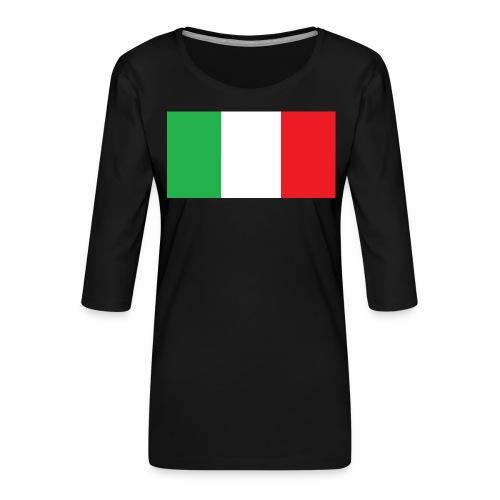Italien Fußball - Frauen Premium 3/4-Arm Shirt