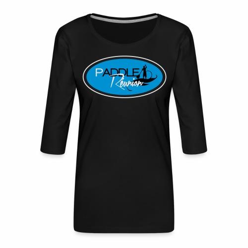 Paddle réunion classic 8 - T-shirt Premium manches 3/4 Femme