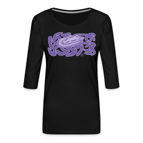 He's All Legs! - Women's Premium 3/4-Sleeve T-Shirt