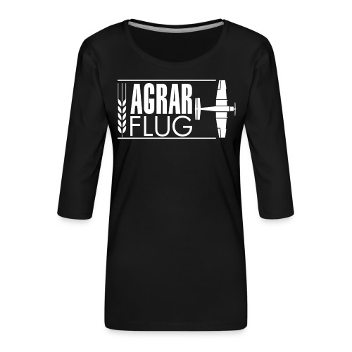 AGRARFLUG - Frauen Premium 3/4-Arm Shirt