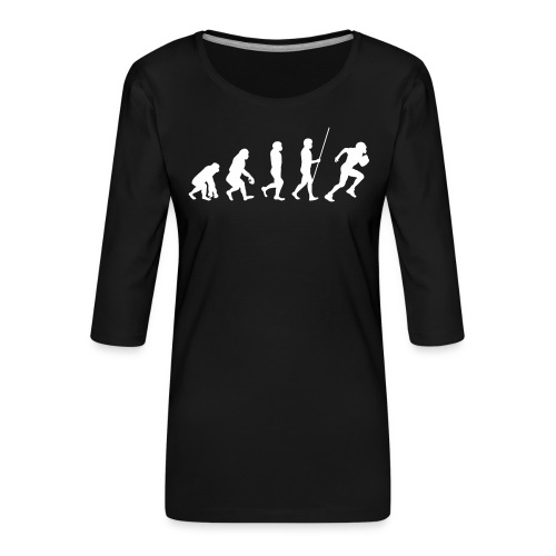 Evolution - Frauen Premium 3/4-Arm Shirt
