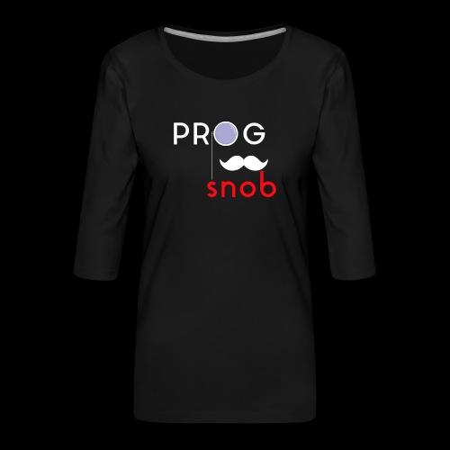 NUOVO3 png - Women's Premium 3/4-Sleeve T-Shirt