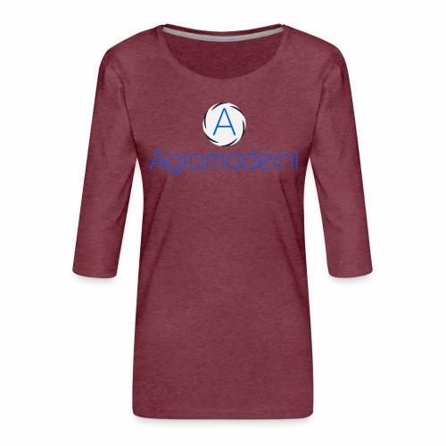 Logo png - Maglietta da donna premium con manica a 3/4