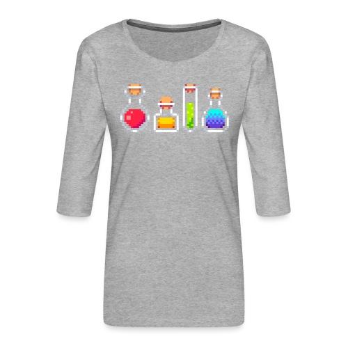 RPG Potions - Dame Premium shirt med 3/4-ærmer