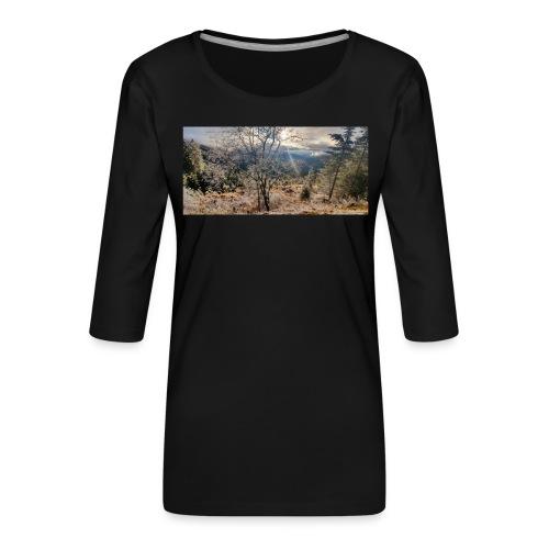 in the Wood - Frauen Premium 3/4-Arm Shirt