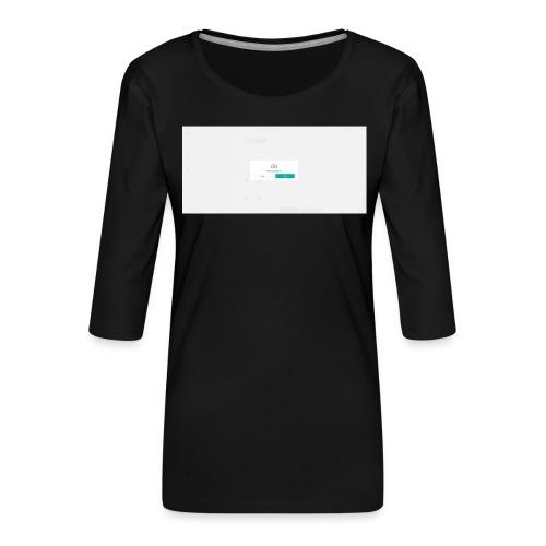 dialog - Women's Premium 3/4-Sleeve T-Shirt