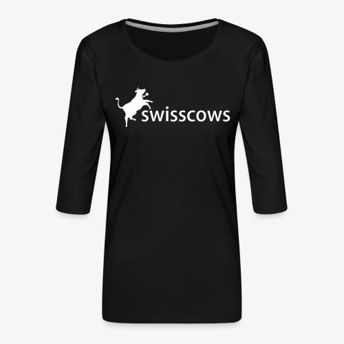 Männer Kaputzenpulli - Frauen Premium 3/4-Arm Shirt
