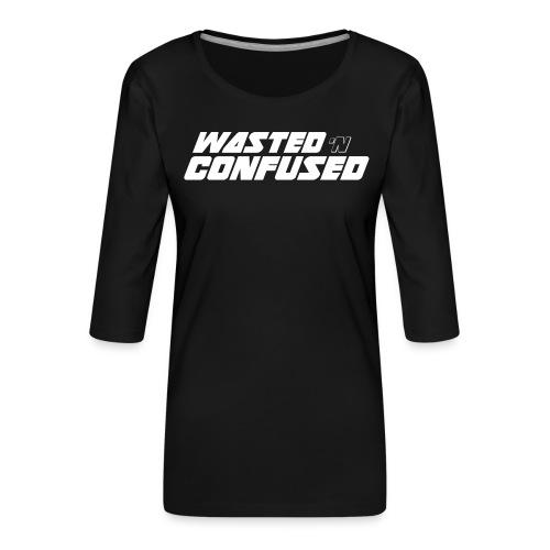 WNC OFFICIAL MERCHANDISE - Vrouwen premium shirt 3/4-mouw