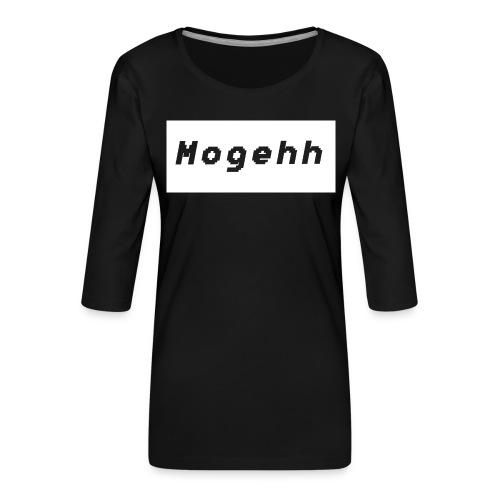 Shirt logo 2 - Women's Premium 3/4-Sleeve T-Shirt