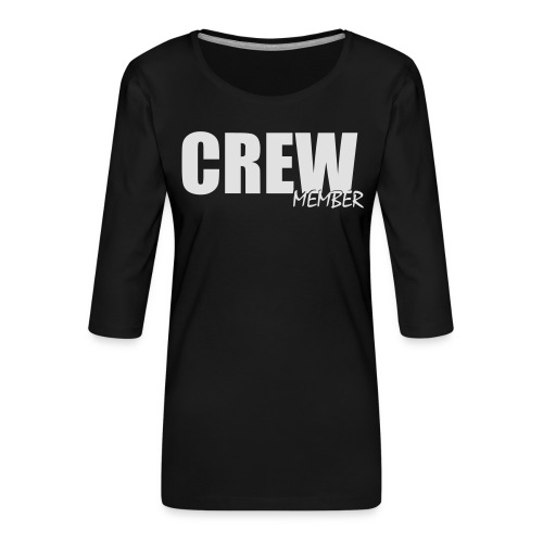 no name - Vrouwen premium shirt 3/4-mouw