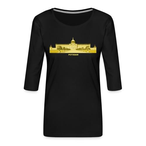 Potsdam Brandenburg Preußen Sans Soucis - Frauen Premium 3/4-Arm Shirt