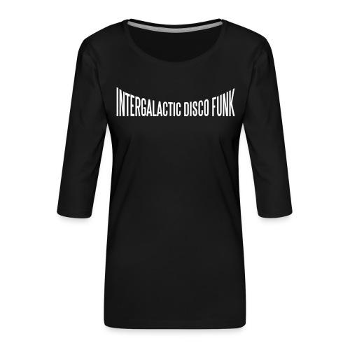 igdf - Vrouwen premium shirt 3/4-mouw