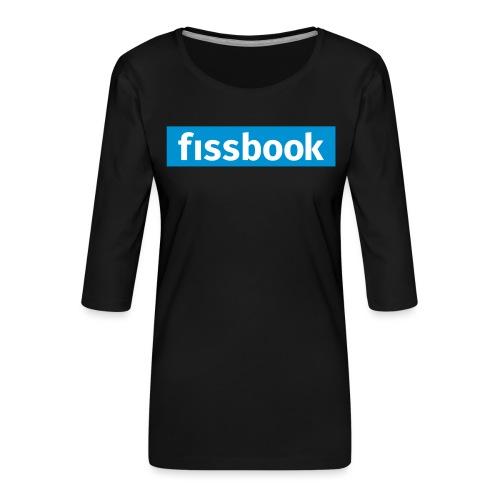 Fissbook Derry - Women's Premium 3/4-Sleeve T-Shirt