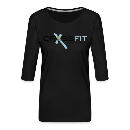 Logo klein - Frauen Premium 3/4-Arm Shirt