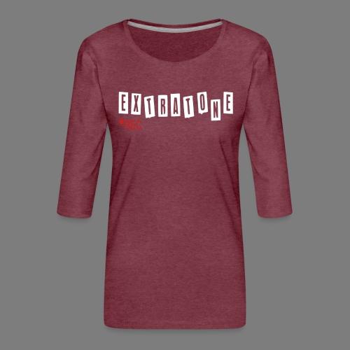 ERFINAL - Vrouwen premium shirt 3/4-mouw