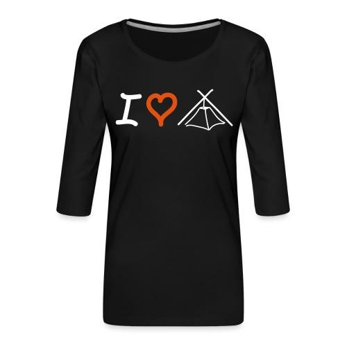 I love Kothe - Frauen Premium 3/4-Arm Shirt