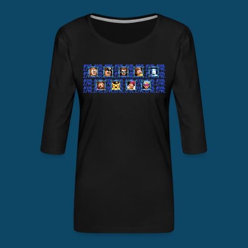 Benzaie LIVE - MUG - T-shirt Premium manches 3/4 Femme