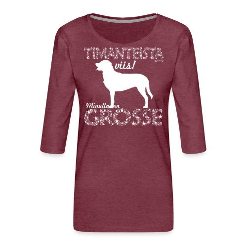 Grosse Timantti - Naisten premium 3/4-hihainen paita