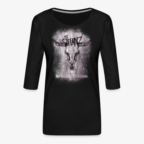 Lasse in Flamez - Premium-T-shirt med 3/4-ärm dam